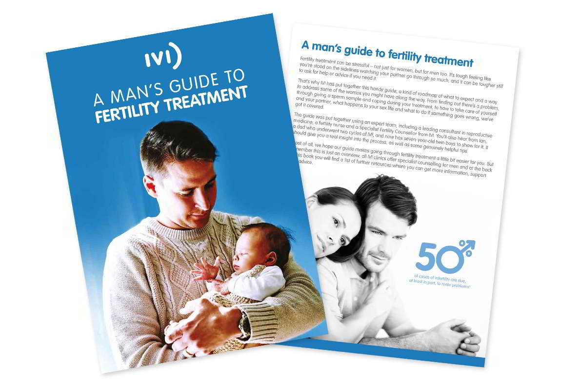 Introducing The Men's Guide to Fertility Treatment
