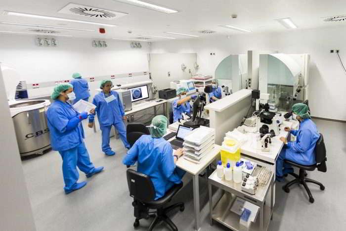 Laboratorio de reproducción asistida