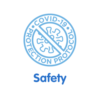 Our clinic has a COVID-19 protection protocol.