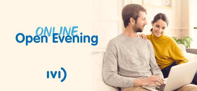 Start your journey at an IVI Online Open Evening