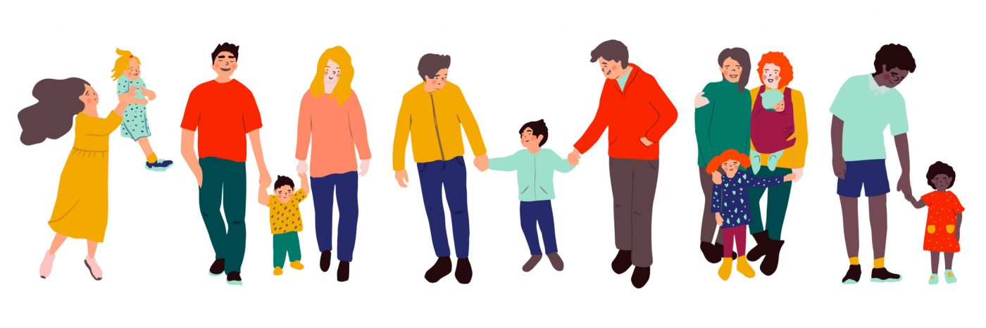 What are the different types of families?